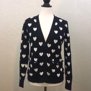 Forever 21 heart cardigan